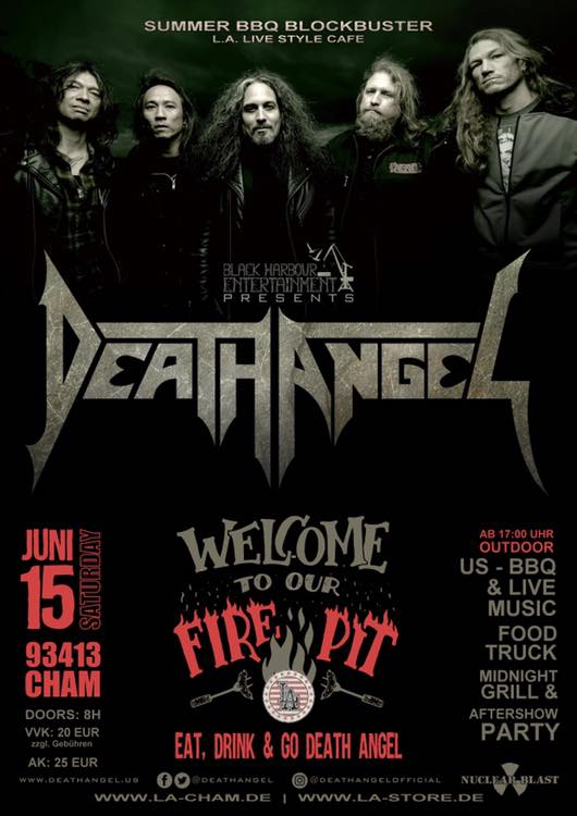 Death Angel im L.A.
